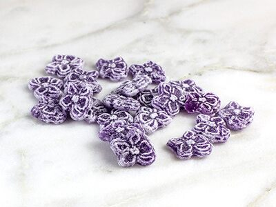 caramelos violetas