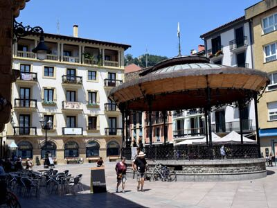 The old town of Zarautz