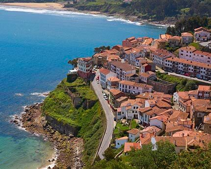 Lastres: home to Spain's Doc Martin