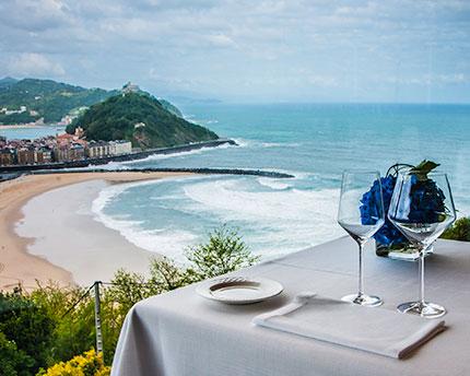 restaurante mirador ulia san sebastian