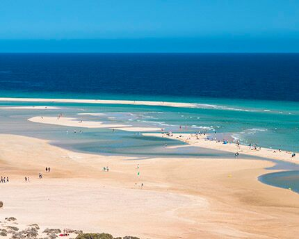 The Playa Del Risco Del Paso Fuerteventura S Golden Beach