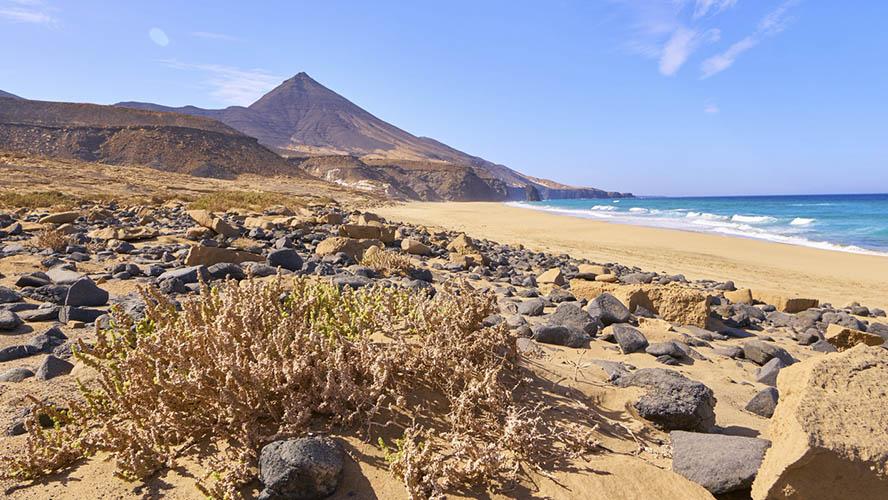 Paisaje de la Playa de Cofete