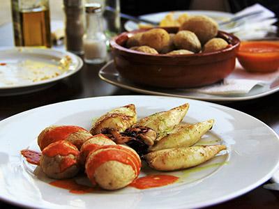 Comer en Gran Canaria