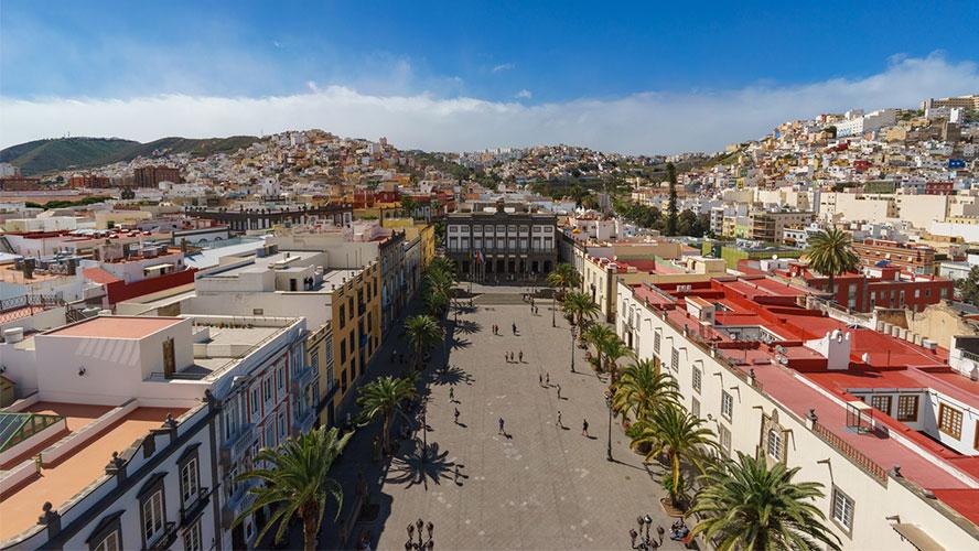 plaza santa ana gran canaria