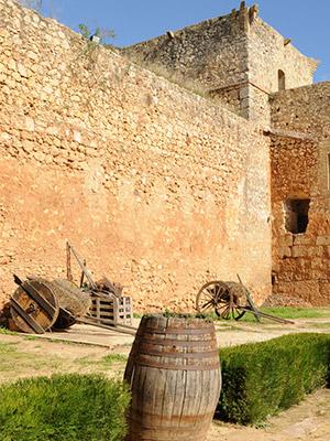 caballerizas Castillo de Niebla