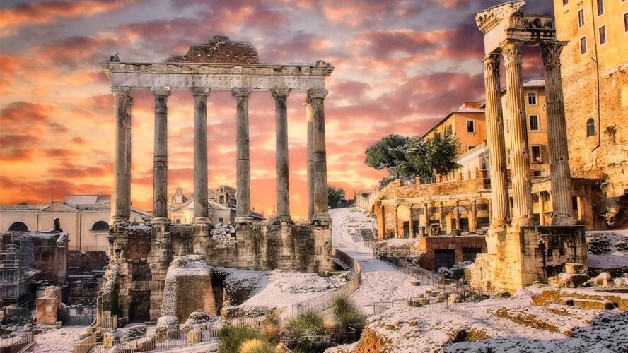 Columnas del Foro Romano