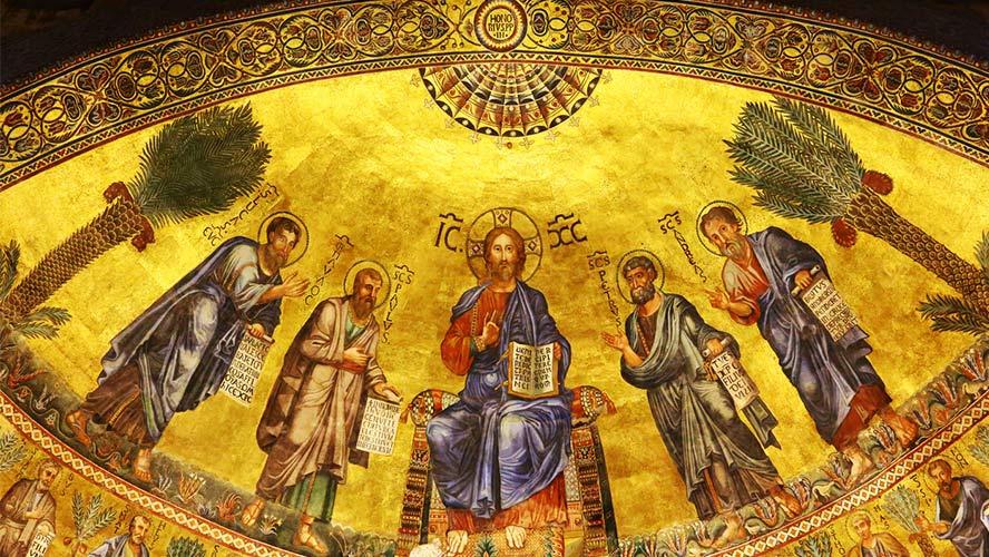 mosaico basílica San Pablo extramuros