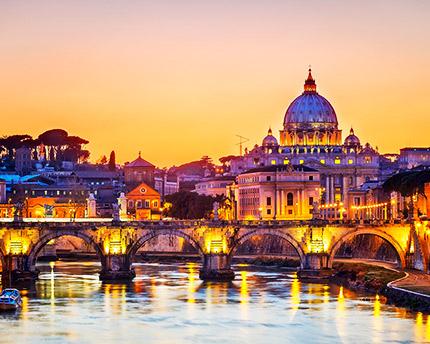 noche en Roma