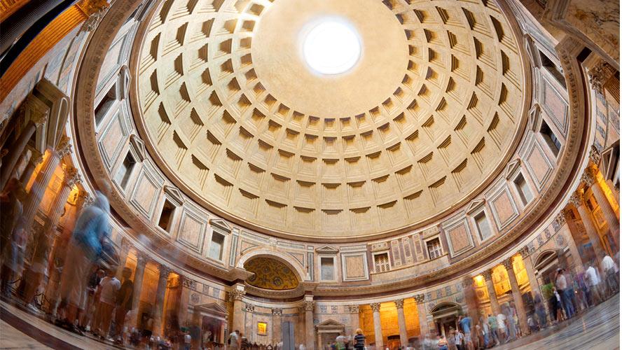 Cúpula del Panteón.