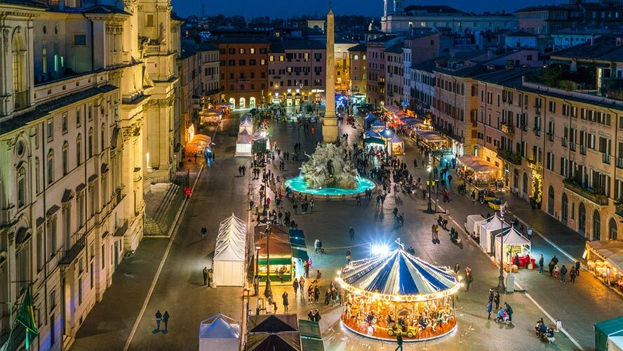 Plaza Navona, Roma