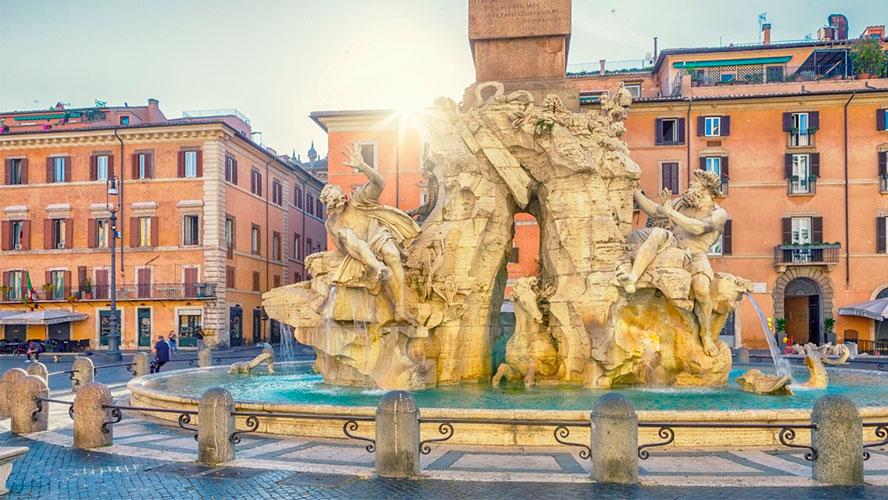 Fontana de los Cuatro Ríos
