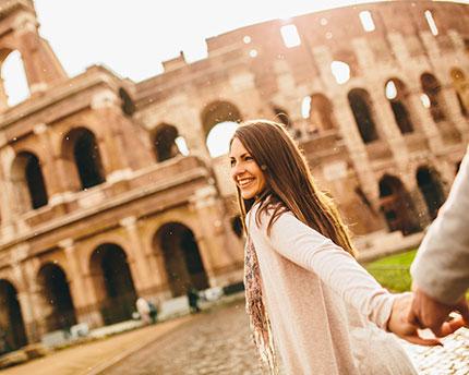 Roma en pareja