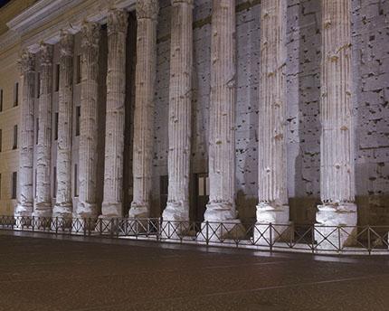 Templo de Adriano en Roma