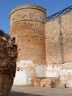 torre del castillo de Niebla.