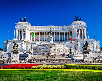 Monumento a Víctor Manuel II, homenaje a la unificación italiana