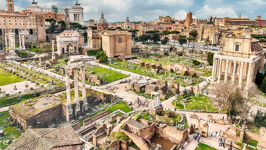 Vista Foro Romano