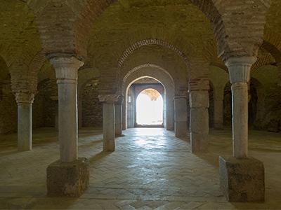 arcos de la mezquita de Almonaster