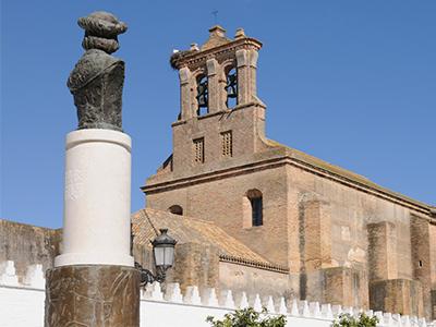 campanario en Moguer