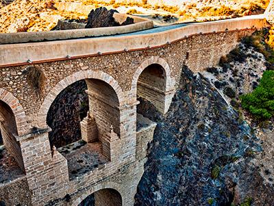 puente en Alhama de Almería