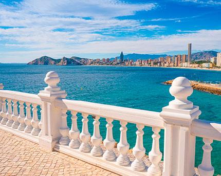 Balcony over the Mediterranean, Benidorm's famous lookout