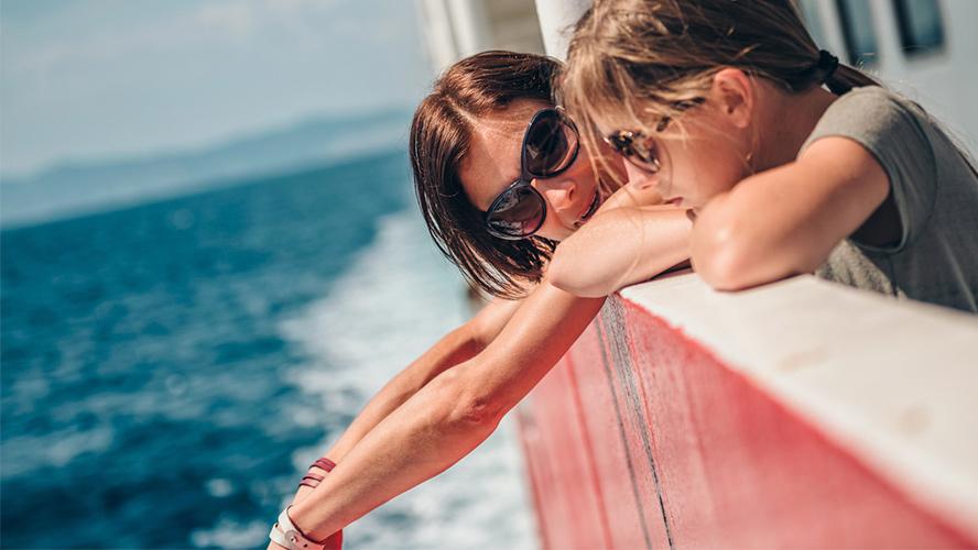 madre e hija Ibiza