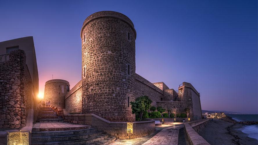 Castillo de Santa Ana, Roquetas de Mar