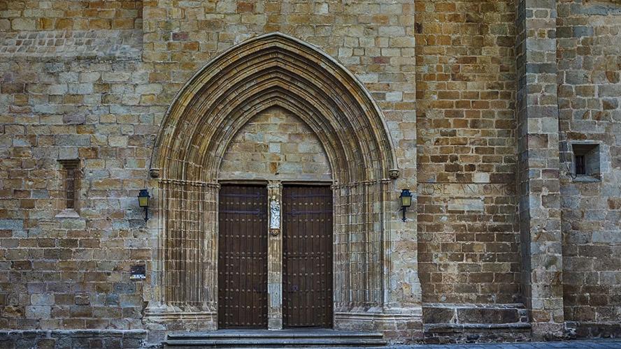 Puerta catedral Santa María