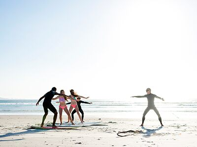 Escuela de surf en Almería
