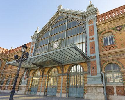 estación de tren almería