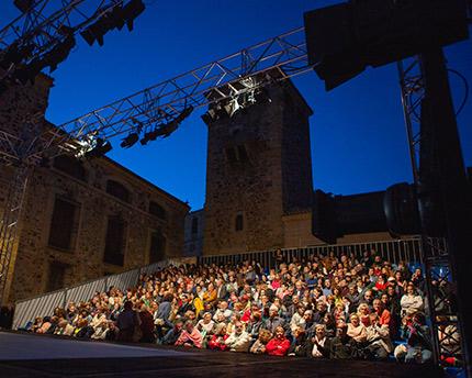 Festival del teatro de Cáceres