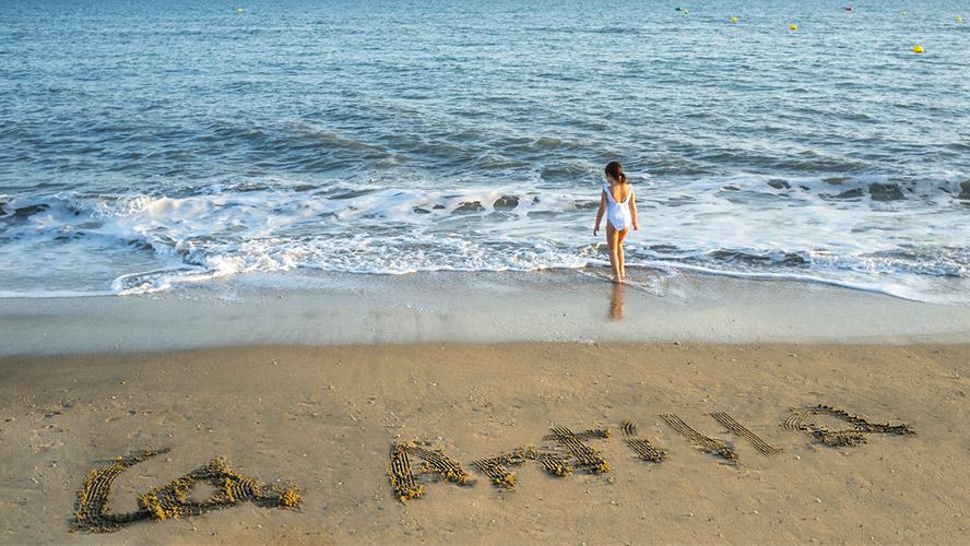 Islantilla, playa de Huelva