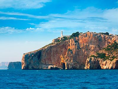 El Cabo de la Nao y el Faro de Albir