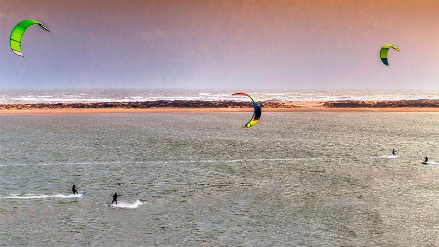 kitesurf en El Portil
