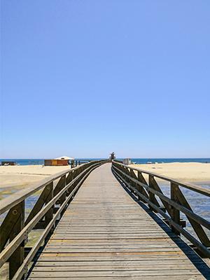 Isla Cristina, pasarela.