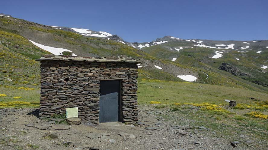 Refugio en el Mulhacén
