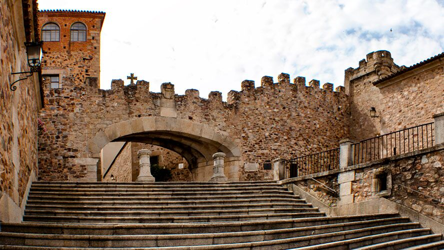 muralla de Cáceres