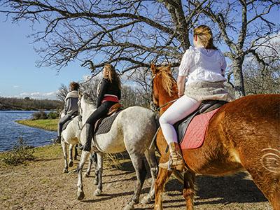 Ruta a caballo por Toledo