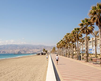Paseo marítimo Almería
