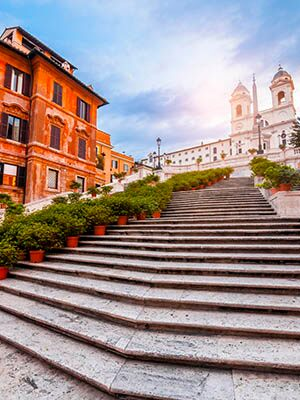 Escalera Plaza de España