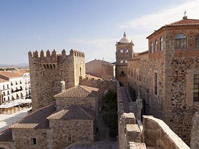 casco antiguo Cáceres