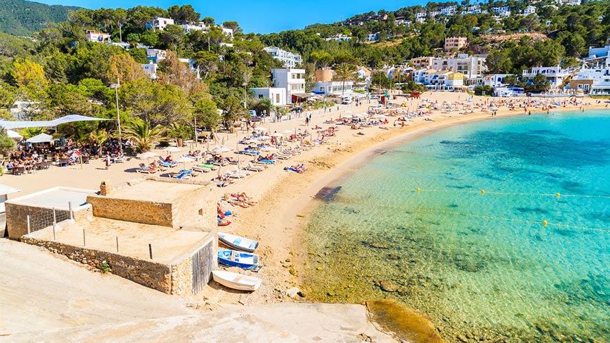 playa de Cala Vadella.