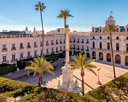 plaza vieja de Almería