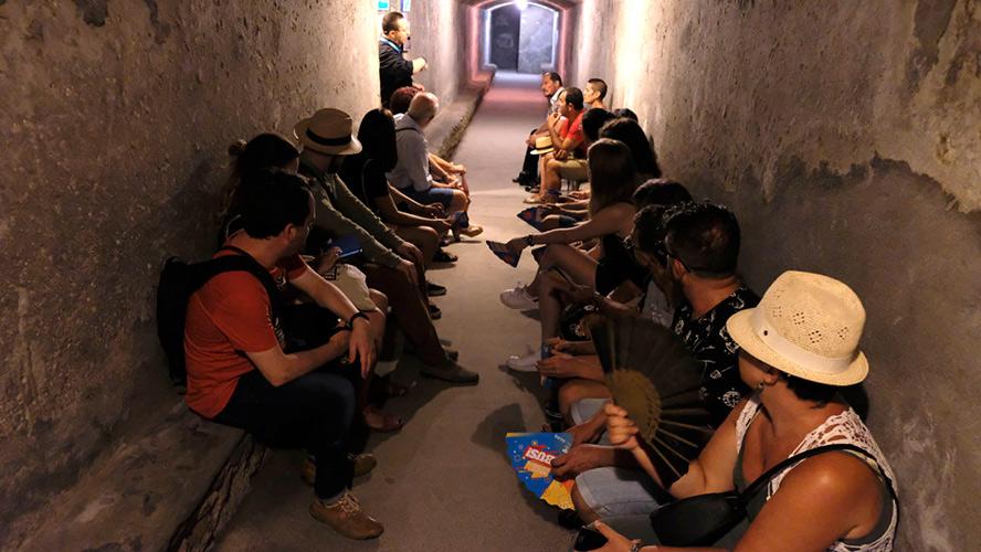 Refugio Guerra Civil Almeria