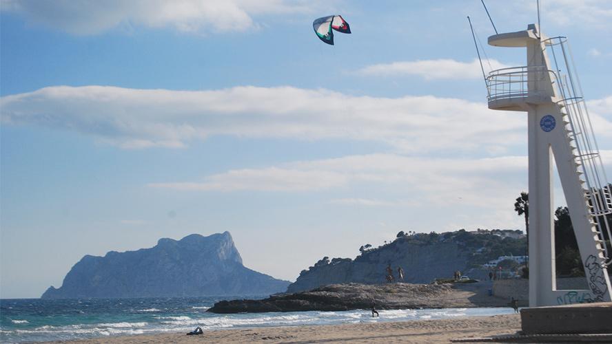 kitesurf en Moraira