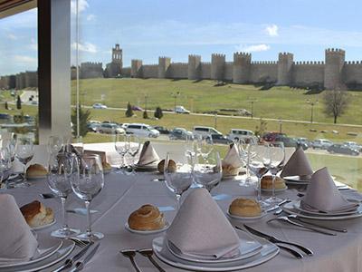 Restaurantes con vistas Muralla Ávila
