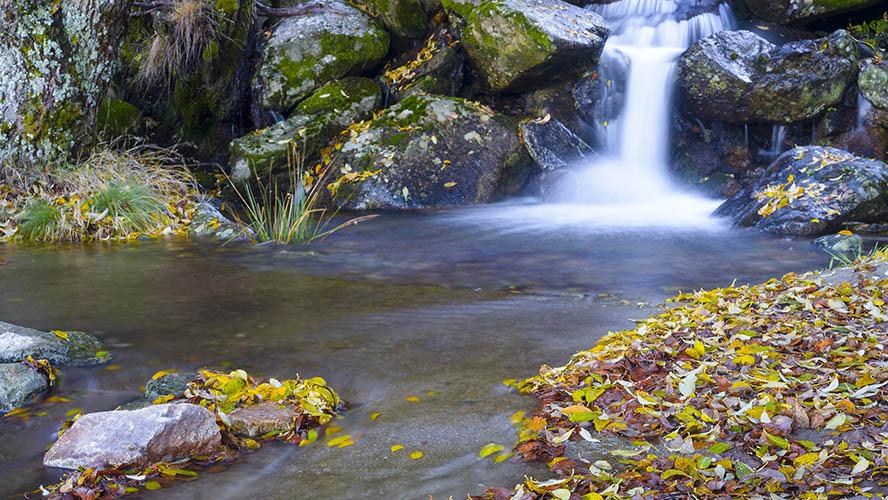 Cascada en el Valle de Ambroz