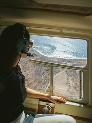 Ruta por el aire en Tenerife