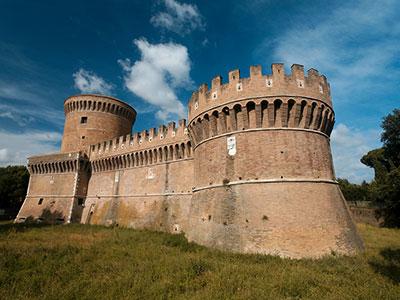 Castillo Ostia Antica