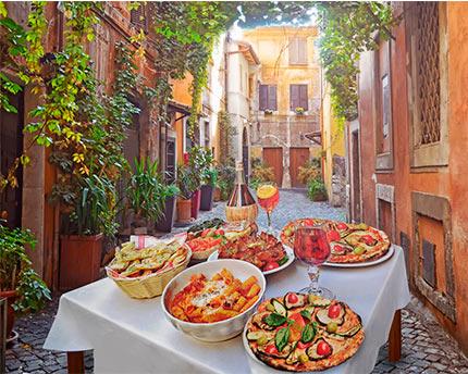Restaurante en Roma