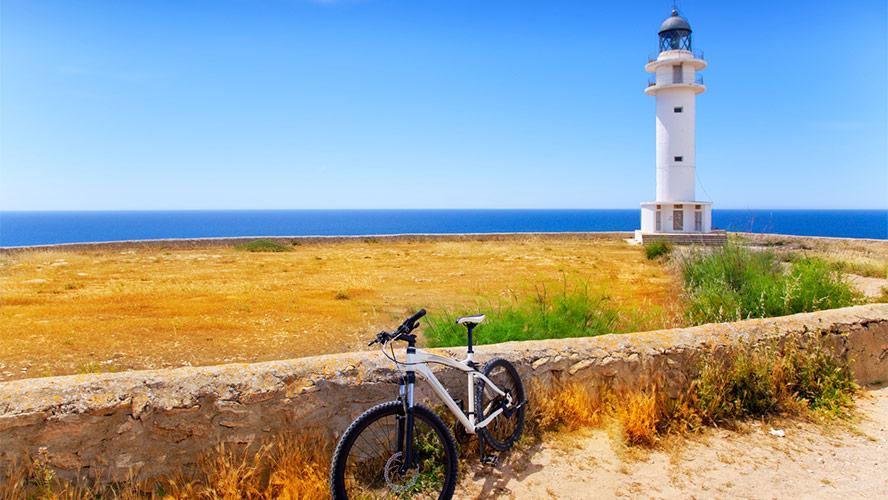 bicicleta en Formentera